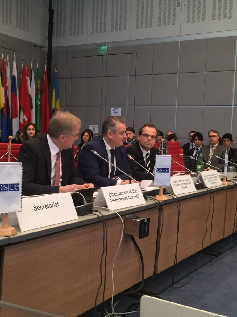 IHRA Chair addresses OSCE | IHRA