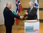 Handover of the ITF Chairmanship by Norway to Israel