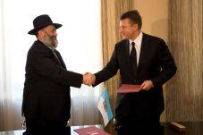 Protocol Agreement Signed on Establishment of a Riga Ghetto Museum