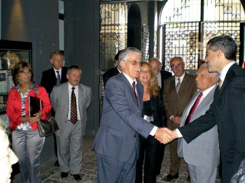 Minister of Education visits the Shoah Museum